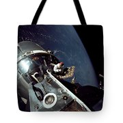 Docked Apollo 9 Command And Service Tote Bag