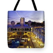 Docked In Monte Carlo Tote Bag