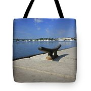 Dock's View Tote Bag