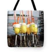 Dockside Huddle Tote Bag