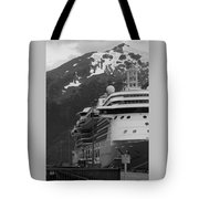 Dockside In Skagway Tote Bag