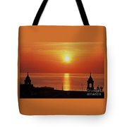 King's Wharf, Bermuda, Sunset # 2 Tote Bag