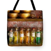 Doctor - Colorful Cures  Tote Bag by Mike Savad