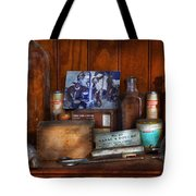 Doctor - My Cluttered Space Tote Bag