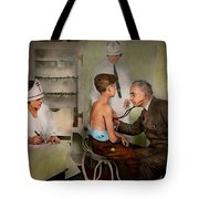 Doctor - At The Pediatricians Office 1925 Tote Bag