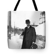 Doctor Making A House Call Tote Bag