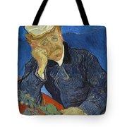 Doctor Paul Gachet Tote Bag
