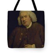 Doctor Samuel Johnson Tote Bag