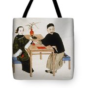 Doctor Taking Pulse Tote Bag