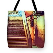 Doctor's Office In Tangier Tote Bag