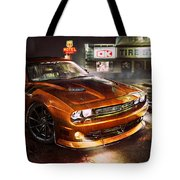 Dodge Challenger R T Tote Bag