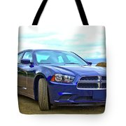 Dodge Charger Tote Bag