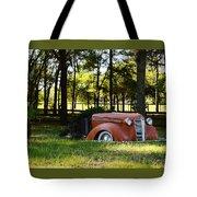 Dodge Ram Yard Art 2 Tote Bag