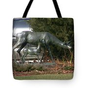 Doe And Fawn Tote Bag