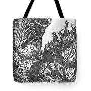 Doe And Weasel Tote Bag