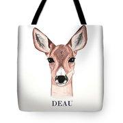 Doe Deer Tote Bag