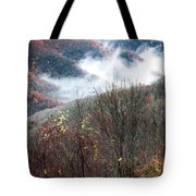 Doe On Autumn Ridge Tote Bag