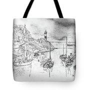 Doellan Sur Mer, Le Port Tote Bag