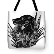Dog, 19th Century Tote Bag