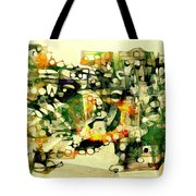 Dog 3549 Tote Bag