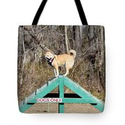 Dog 389 Tote Bag