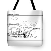 Dog And Cat On Social Media Tote Bag