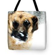 Dog Blizzard - German Shepherd Tote Bag