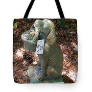 Dog Garden Statues Tote Bag