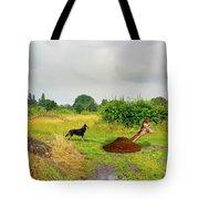 Dog Heaven - Abbie's Edit Challenge 3 Tote Bag