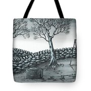 Dog House Tote Bag