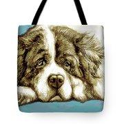 Dog -  New Pop Art Poster Tote Bag