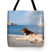 Dog Watch Tote Bag