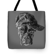 Dog With Attitude Tote Bag