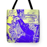 Doge Jumps For Treat 6 Tote Bag