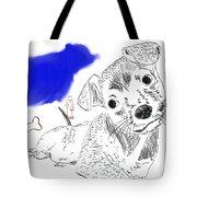 Doggie Dreams Tote Bag