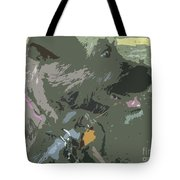 Doggie Side Tote Bag