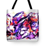 Doggies And Dolphins Tote Bag