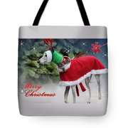Doggy With Your Nose So Bright Tote Bag