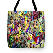 Dogs Dogs Dogs Tote Bag
