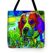 Dogs Can See In Color Tote Bag