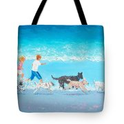 Dogs Day Out Tote Bag