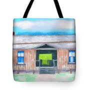 Dogtrot Cracker Home Drawing Tote Bag