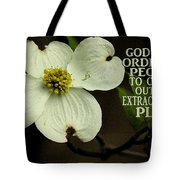 Dogwood Bloom / Flower Tote Bag