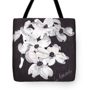 Dogwood Blooms Tote Bag