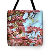 Dogwood Flowering Trees Pink Dogwood Flowers Baslee Troutman Tote Bag