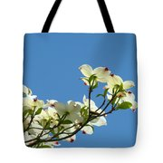 Dogwood Flowers Art Prints White Flowering Dogwood Tree Baslee Troutman Tote Bag
