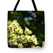 Dogwood Flowers White Dogwood Tree Flowers Art Prints Cards Baslee Troutman Tote Bag