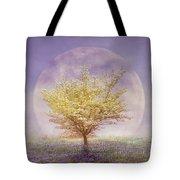 Dogwood In The Lavender Mist Tote Bag