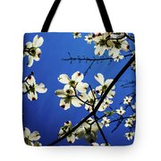 Dogwood In The Sky #2 Tote Bag