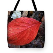 Dogwood Leaf Tote Bag